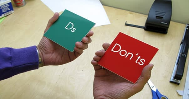 Dos and don'ts for business success