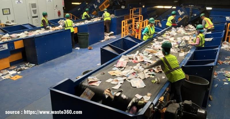 Waste Recycling Process in Melbourne