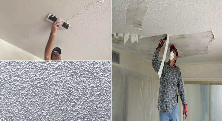 Effective Tips for Removal Popcorn Ceiling on a Limited Budget