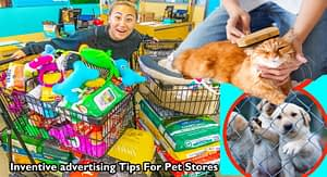 Inventive advertising Tips For Pet Stores