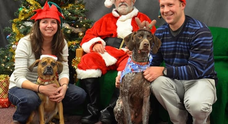 Bring Your Pets For Pictures With Santa!