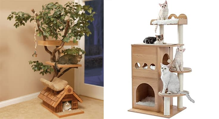 Pros and Cons of a Modern Cat Tree